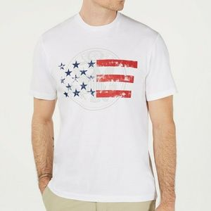 NWT Club Room mens Patriotic Graphic T-Shirt. L